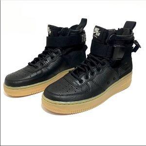 Nike SF AF1 MID Black 5.5 Y or Women size 7